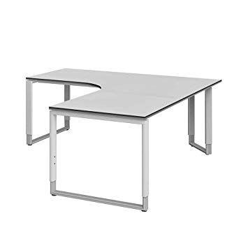 Über l geformten Schreibtisch | Dekoration | Schreibtisch .