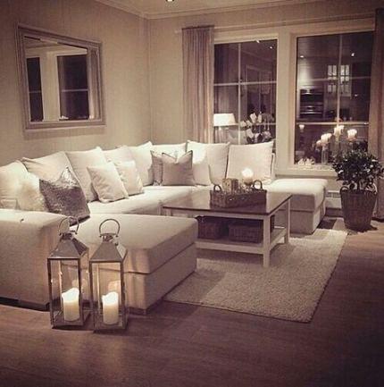 Wohnzimmer Layout l geformte Couch 43+ Beste Ideen in 2020   Cosy .