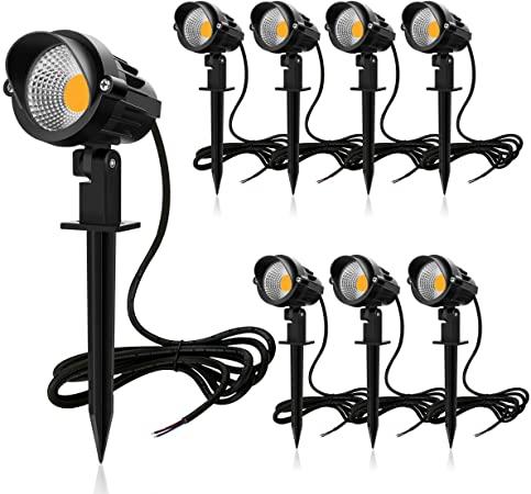Meike 7 W LED Landschaftsbeleuchtung 12 V/24 V Außenstrahler LED .
