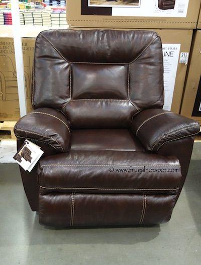 Costco – Berkline Tullran Leather Rocker Recliner $499.99 | Swivel .