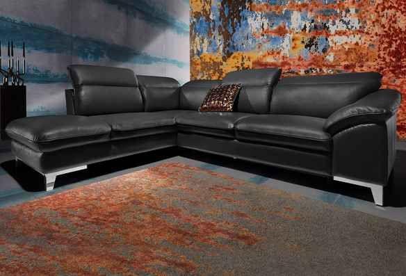Ledersofa & Ledercouch online kaufen » bei cnouch.de   Couch mit .