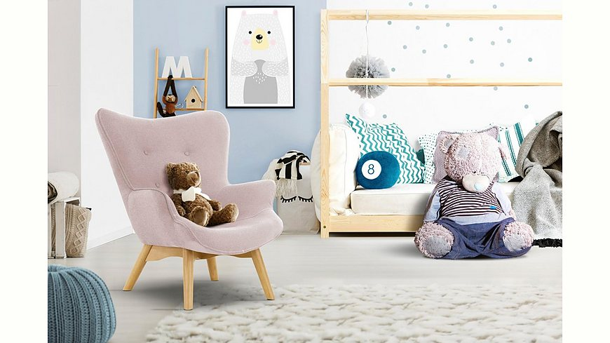 Lüttenhütt Sessel »Duca Mini«, in kleiner Ausführung für Kinder .
