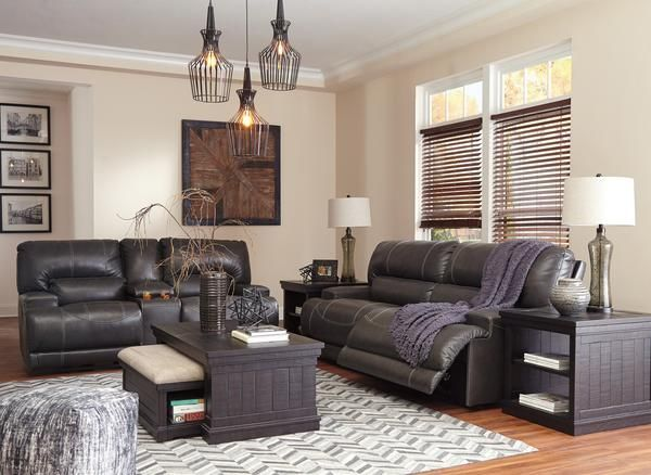 McCaskill FREE Power Upgrade Sofa and Loveseat   Leather living .