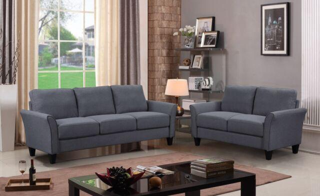 Ledersofa und Sofa Set