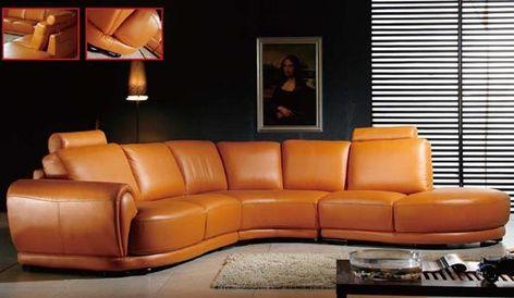 Braunes Leder Sofa Set Designs 1295 - Brown Leather Sofa Set .