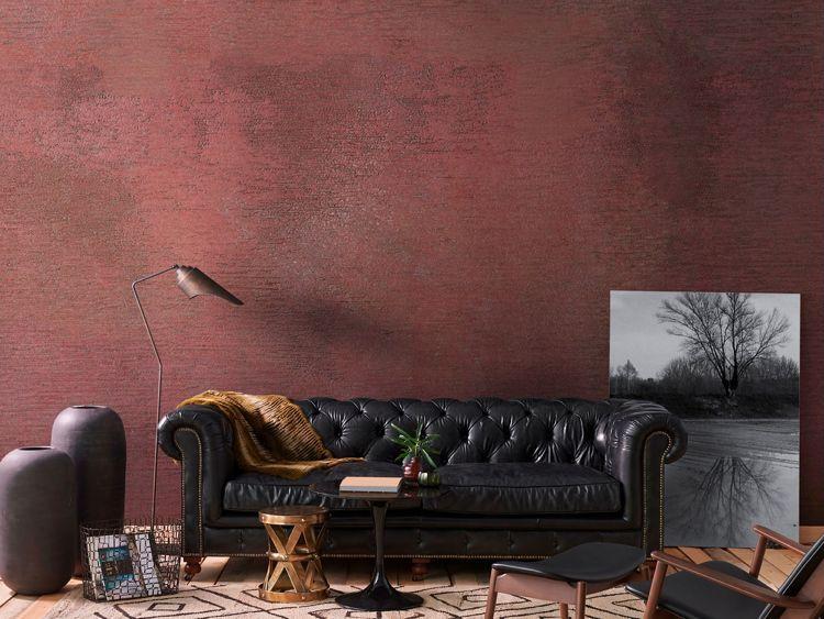 Tapeten für Wohnzimmer rot #Vlies waschbar Kombinationen .