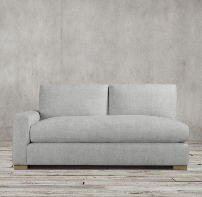 Maxwell Left-Arm Sofa | Sofa, Girl room, Restoration hardwa