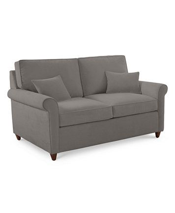 Lidia 62 Fabric Loveseat, Created for Macy's in 2020   Love seat .