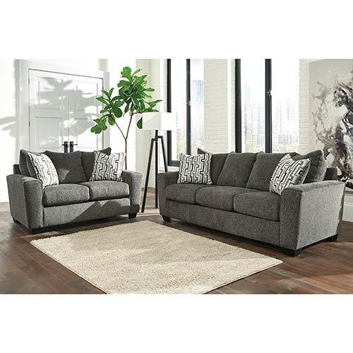 """Signature Design by Ashley """"Twombley-Gray"""" Sofa and Lovese"""