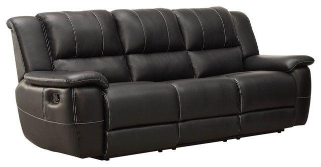Schöne Schwarze Leder Liege Sofa Schwarz Leder Liegende Sofa #Sofa .