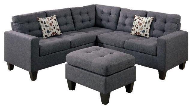Unglaubliche Modular Leather Sectional Sofa Shop Houzz Infini .