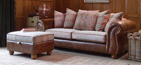 Wilmington Large Leather Sofa   Leather sofa, Sofa, Furnitu