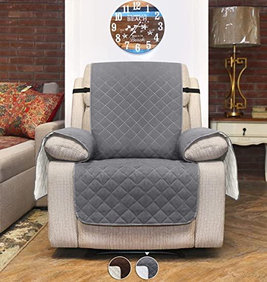 Amazon.de: Utopia Bedding Sofabezug mit verstellbaren elastischen .