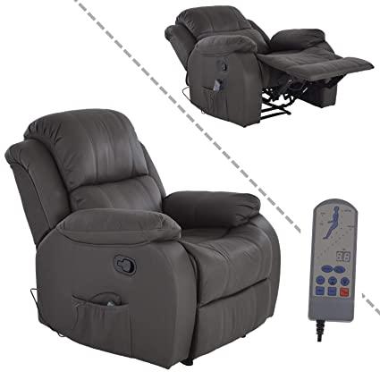 MACO Import Fernsehsessel mit Massage und Wärmefunktion - dick .