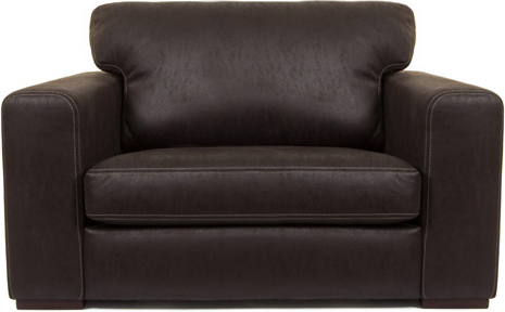 genial traditional leather loveseat with nail head trim klaussner .