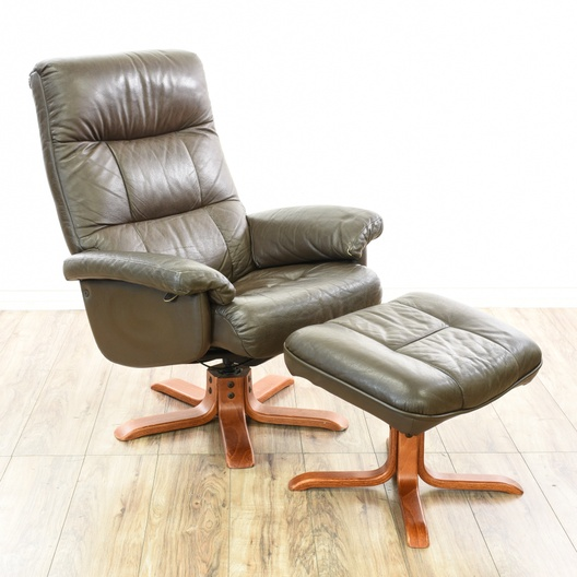 "Mobel Team"" Swedish Lounge Chair & Ottoman Set | Loveseat Vintage ."