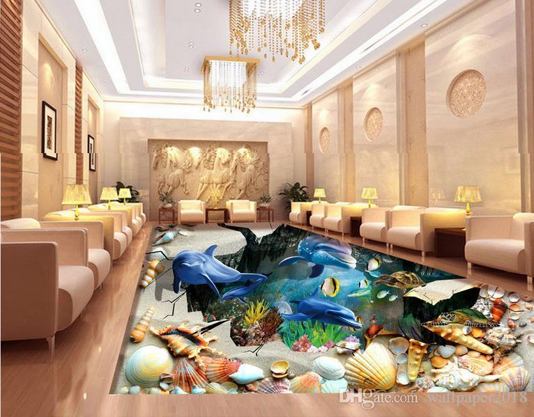 Luxuriöses Badezimmer mit Vinylböden