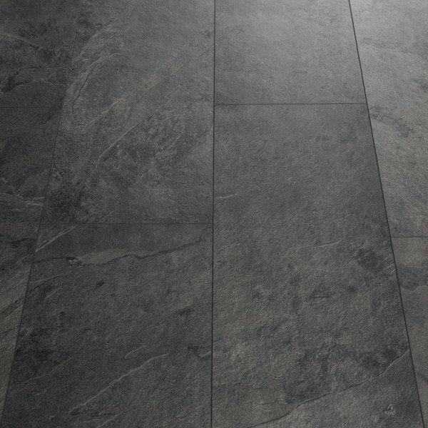 Quick-Step Livyn Tile Black Slate Luxury Vinyl Tile | Vinylboden .