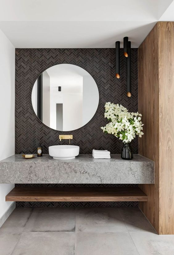 68 Best Vanity Ideas for Your Home Room in 2020 | Bathroom design .