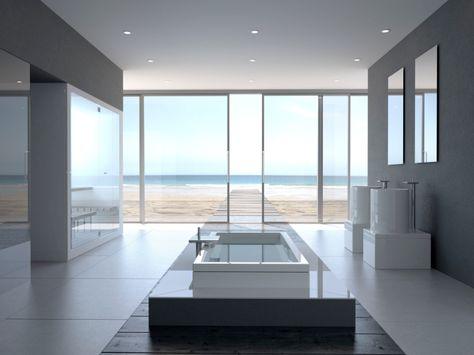 25 moderne Luxus-Badezimmerdesigns | Modernes luxuriöses .