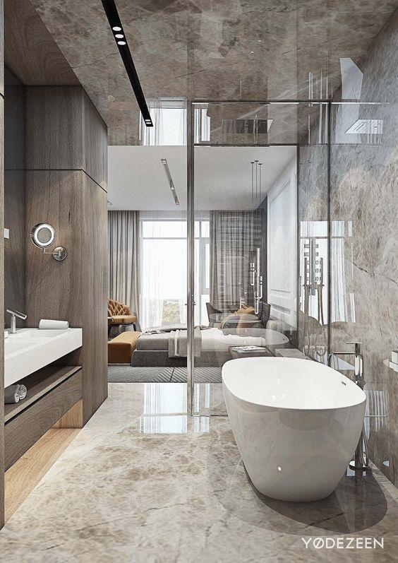 Innenziele: 25+ Erstaunliche Luxus-Badezimmer - Limpho Bolila .