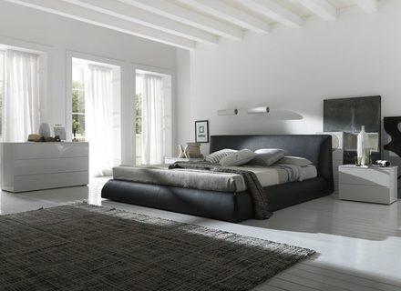 Schlafzimmer Luxus Geprägte Solide übergroße Betten Mit Schwarz .