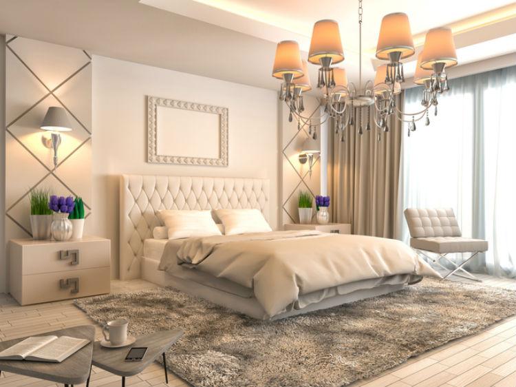 So richten Sie ein Luxus-Schlafzimmer ein - Wohnungs-Einrichtung.