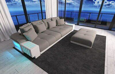 Couch XXL BIG Sofa Couchgarnitur Designsofa Luxussofa Stoffcouch .