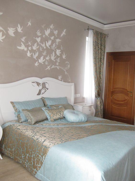 Farben für in 2020   Bedroom decor, Bed decor, Master bedrooms dec