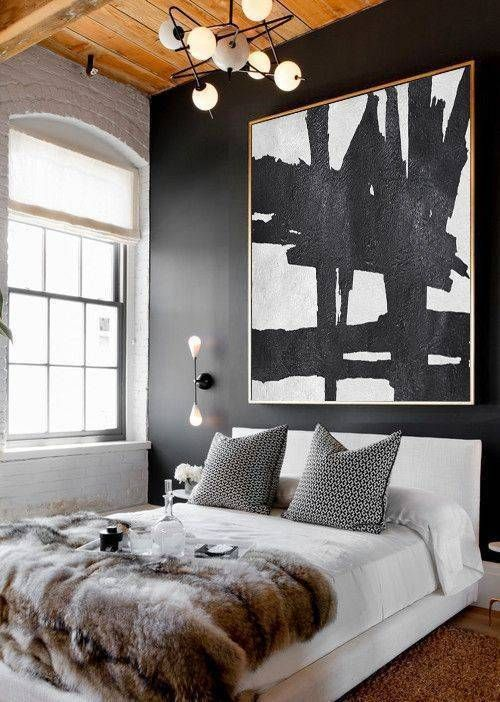 Malen Sie Ideen für Schlafzimmer in einer Reihe von Farben .