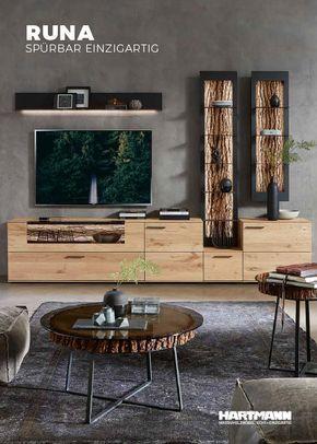 Hartmann Massivholzmöbel - Farbprospekt RUNA | Country living room .