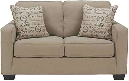 Ashley Furniture Alenya Sofa mit 2 Kissenbezügen, Mikrofaser .