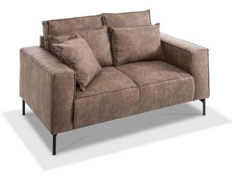 filippo Sofa Sydney /Braun, Mikrofaser in 2020   Sofa, Couch, Home .