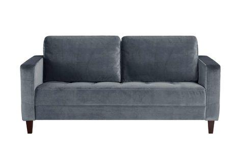 smart Sofa grau - Mikrofaser Geradine   Sofa, Günstige sofas und .