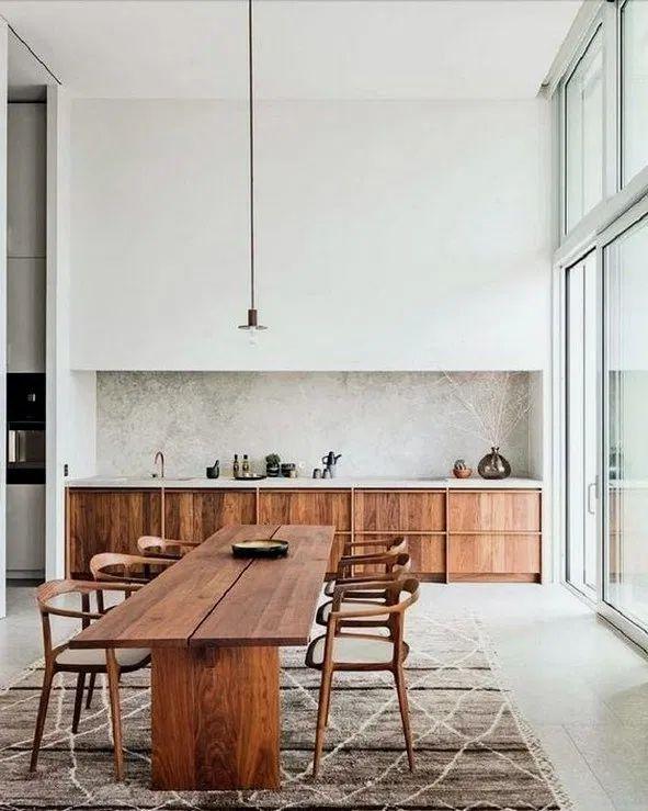 14 amazing minimalist kitchen design ideas 00004 in 2020 | Kitchen .