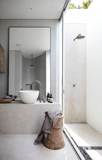 30 Examples Of Minimal Interior Design #11 | Badezimmer design .