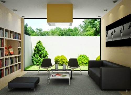 Minimalistisches Interior Design