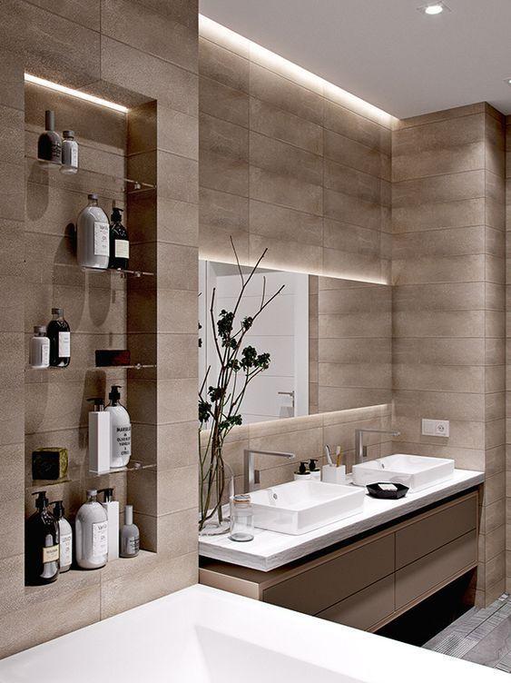 60+ modern bathroom design ideas to inspire yourself- 60+ Moderne .