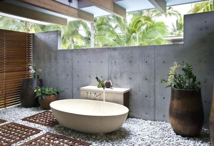 Latest! Interesting 15 Outdoor Bathroom Design Ideas For Your Home .