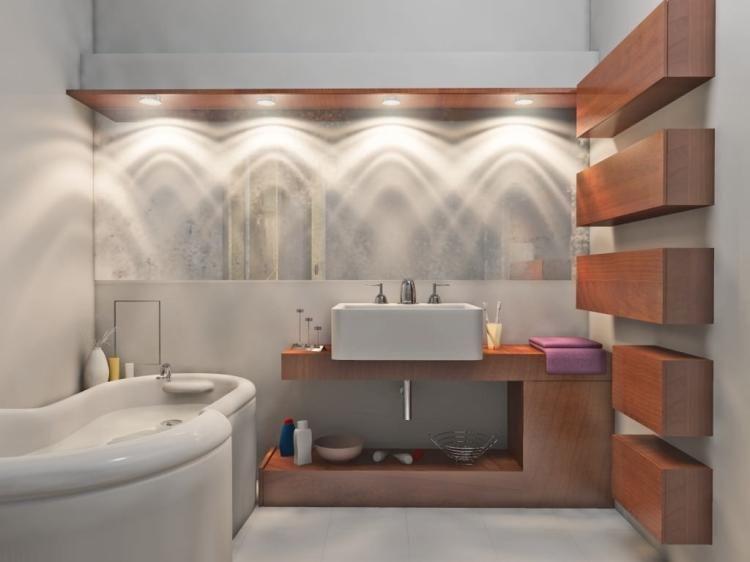 Moderne Badezimmerbeleuchtung - wie wählt man die richtige .