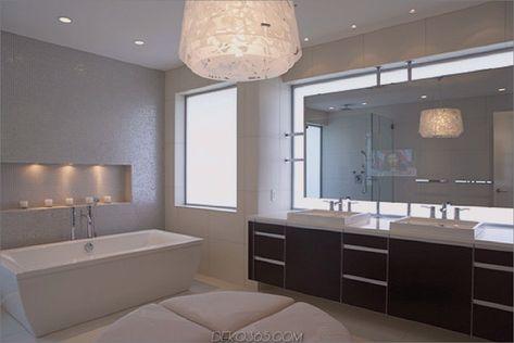 Ideen zu Gunsten von die Badezimmerbeleuchtung zu Gunsten von .