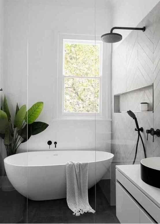 Moderne Badezimmerideen - #badezimmerrenovierungen   Badezimmer .