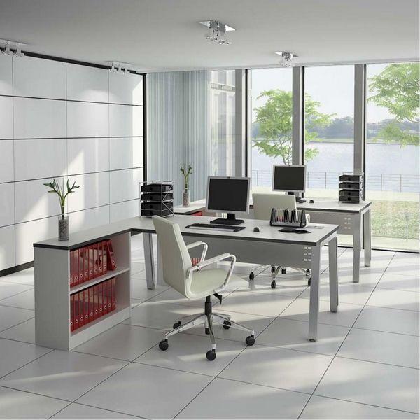 20 elegante und schlanke weiße Bürostühle für moderne Büros #buros .