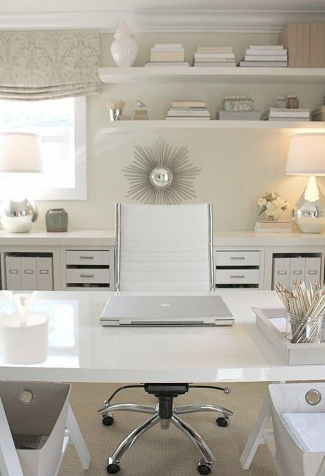 20 elegante und schlanke weiße Bürostühle für moderne Büros in .
