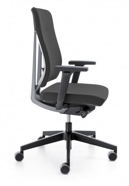 Moderner Bürostuhl mit höhenverstellbaren Armlehn