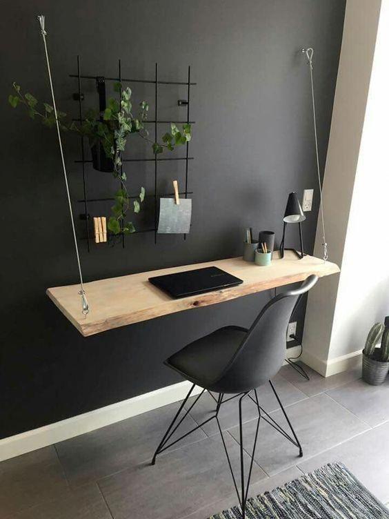 Moderne DIY Computer Schreibtisch Ideen, kleine Ho in 2020 | Home .