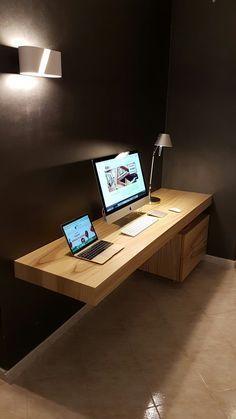 Beste moderne Computer-Schreibtisch-Design-Ideen #computerdesk #pc .