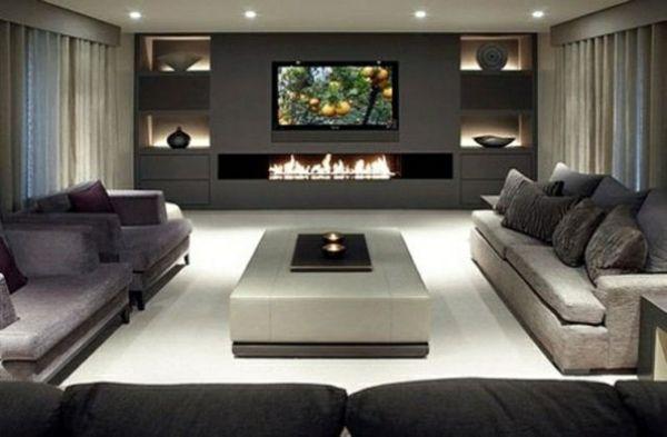 30 Einrichtungsideen moderne Wohnzimmer zu gestalten | Wohnzimmer .