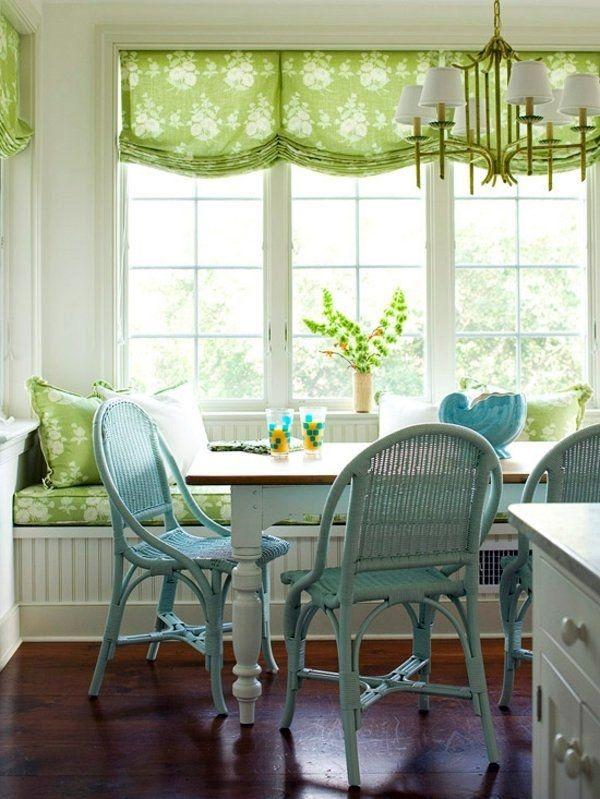 Küchenvorhänge - moderne Einrichtungsideen #einrichtungsideen .