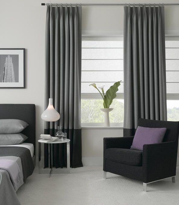 Zeitgenössische Fenstervorhänge | Moderne fenstervorhänge, Moderne .